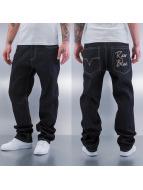 Raw Blue Baggy jeans Adub Logo zwart