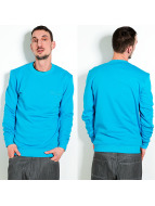 Raw Blue Pullover Signature blau