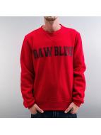 Raw Blue Pullover New Stitch Fleece rot