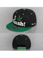 Raw Blue snapback cap I Love Kush zwart