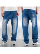 Raw Blue Spodnie Baggy Free niebieski