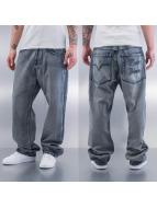 Raw Blue Spodnie Baggy Bristol szary