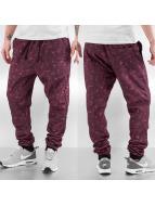 Raw Blue Spodnie do joggingu Imperious czerwony