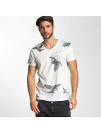 Birds T-Shirt Ecru...