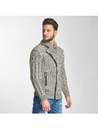 Red Bridge Thimphu Cardigan Ecru/Brown