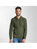 Red Bridge Nameless Faces Hoody Khaki