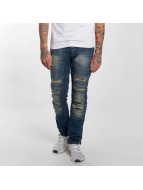 Red Bridge Jeans Straight Fit Destroyed bleu