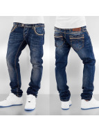 Red Bridge Jeans Straight Fit Two Waist bleu