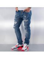 Red Bridge Jeans Straight Fit Destructive bleu
