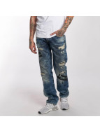 Red Bridge Jeans straight fit Look Out blu