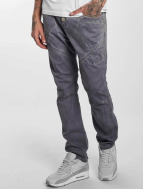 Red Bridge Jeans Straight Fit Emblem gris