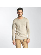 Knit Sweatshirt Beige...