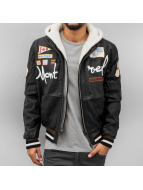 Red Bridge Lederjacke Montreal schwarz