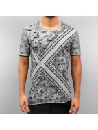 Paisley T-Shirt Grey...