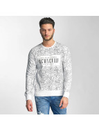 Red Bridge Pullover Born To Be Famous blanc