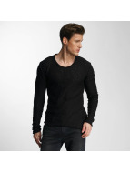 Red Bridge Pullover Asymmetrical Line noir