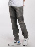 Red Bridge Slim Fit Jeans Used grau