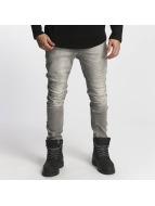 Red Bridge Slim Fit Jeans Carl grau