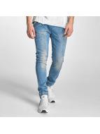 Red Bridge Slim Fit Jeans Performence modrý