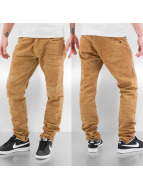 Red Bridge Straight Fit Jeans Destroy beige