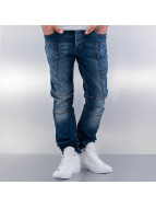 Red Bridge Straight Fit Jeans Quited II blå