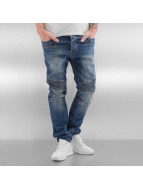 Red Bridge Straight Fit Jeans Harsh blå