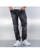 Red Bridge Straight Fit Jeans Crazy black
