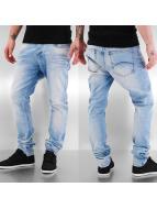 Red Bridge Straight Fit Jeans Base blau