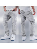 Red Bridge Straight Fit Jeans Rain blau