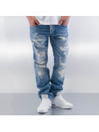 Red Bridge Straight Fit Jeans Used blau