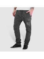 Red Bridge Straight Fit Jeans Paris grey