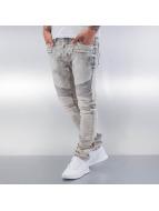 Red Bridge Straight Fit Jeans Dirrty Biker grey