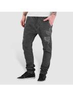 Red Bridge Straight fit jeans Paris grijs