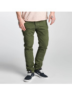 Red Bridge Straight fit jeans Sochumi groen