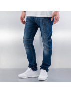 Red Bridge Straight Fit Jeans Quited mavi