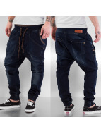 Red Bridge Straight Fit Jeans Jogger schwarz