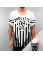 Red Bridge T-paidat Brooklyn 98 NYC valkoinen