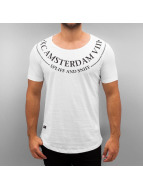 Red Bridge T-Shirt Amsterdam blanc