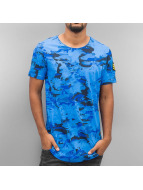 Red Bridge T-Shirt Combat blau