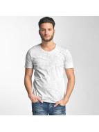 Red Bridge Vintage Patchwork T-Shirt Grey