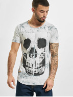 Red Bridge T-Shirt Skull gris