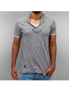 Red Bridge T-Shirt Stripes gris