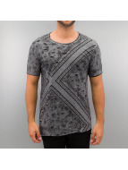 Red Bridge T-Shirt Paisley gris