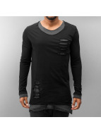 Red Bridge T-Shirt manches longues Two Layers noir