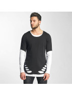 Red Bridge T-Shirt manches longues Poljamy noir