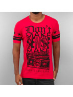 Red Bridge T-shirt Bank Of Gang Land rosso