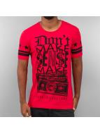 Red Bridge T-Shirt Bank Of Gang Land rouge
