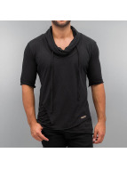 Red Bridge T-Shirt Asymmetric schwarz