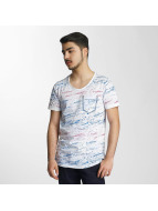 Red Bridge T-Shirt Splatter Pocket weiß
