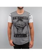 Red Bridge t-shirt Endless Mesh wit